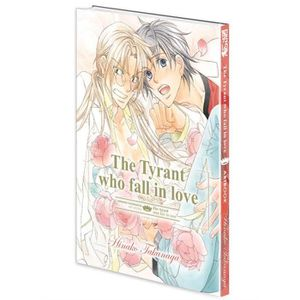 BANDE DESSINÉE Livre - the tyrant who fall in love ; artbook