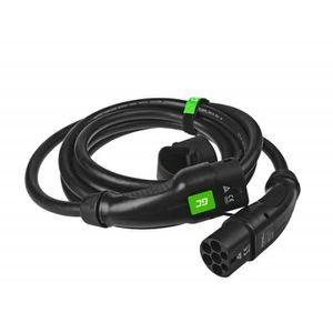 CHARGEUR DE BATTERIE Câble Green Cell GCev¹ Type 2 pour charger les voi