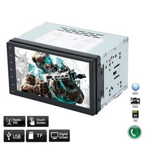 AUTORADIO 7 pouces Autoradio voiture GPS WIFI MP5 Player tél
