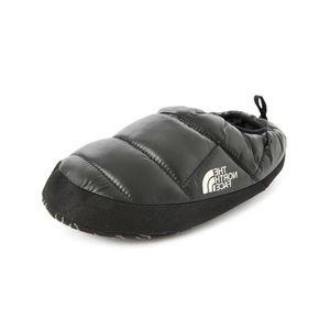 CHAUSSON - PANTOUFLE Chaussons noirs NSE Tente Mule pour homme