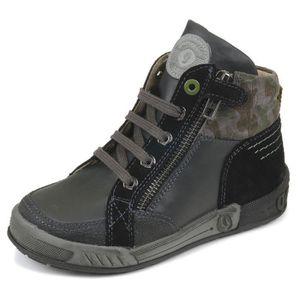 BOTTINE Garvalin Boots noir cuir 151583A