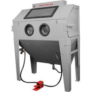 SABLEUSE Cabine de sablage professionnelle 420 L avec aspir