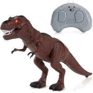 FIGURINE - PERSONNAGE NEUFU Dinosaure à pied Lumière des yeux Amusement
