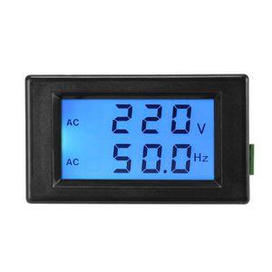 MULTIMÈTRE XCSOURCE Voltmètre AC80-300V Moniteur de fréquence