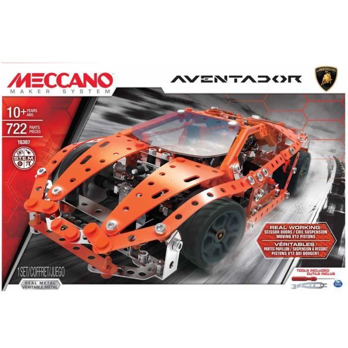 MECCANO Lamborghini Aventador à construire