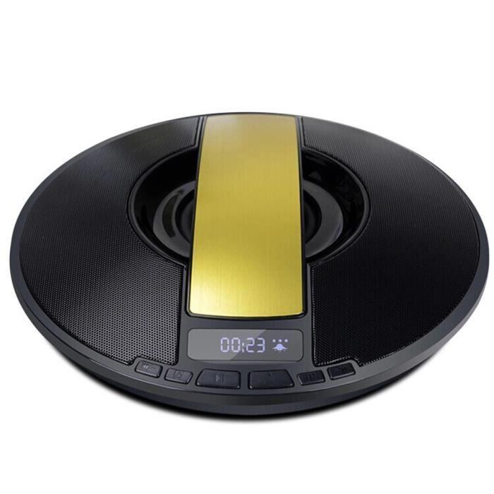 Écran Lcd De Mode Haut-parleur Portable Stéréo Bluetooth Sans Fil Pour Smartphone Ye @hanza18232