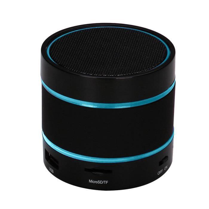 Led Parleur Sans Fil Bluetooth Carte Portable Et Rechargeable Tf Pour Iphone_ma11685