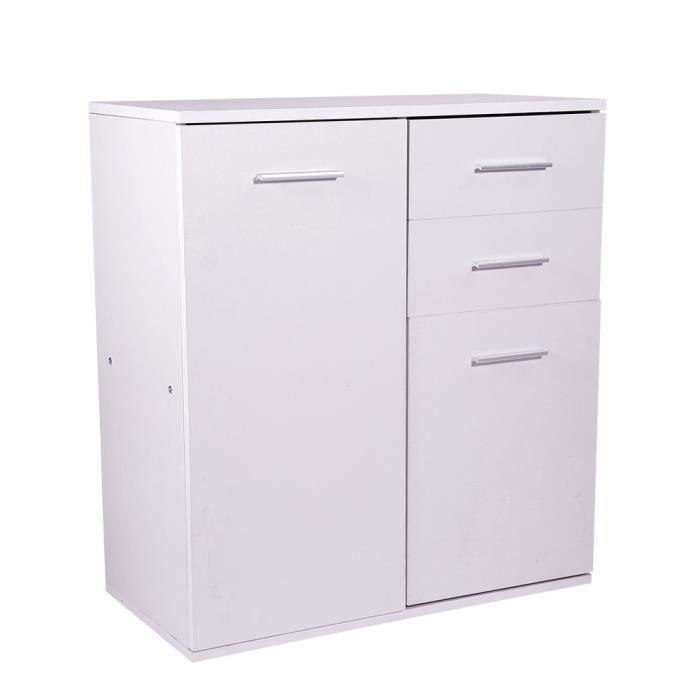 petit meuble rangement range tout meuble de rangement 2 portes et 2 tir - Meuble De Rangement Petite Profondeur
