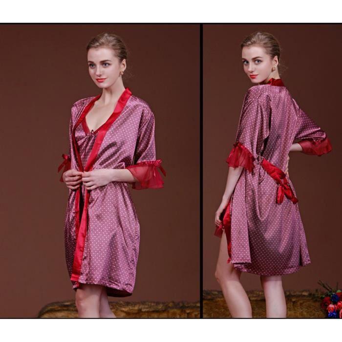 nuisette kimono soie