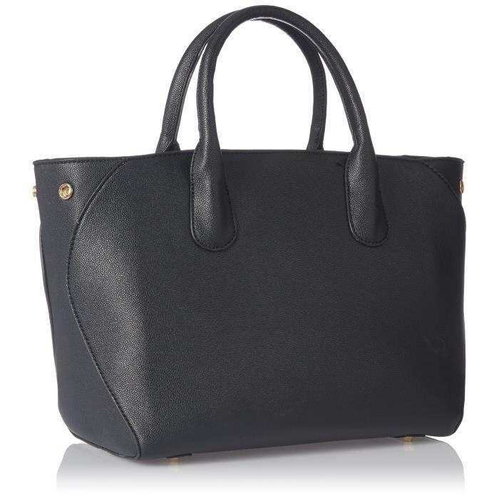 Sac à main de la femme, Material- synthethic cuir, noir Couleur- BUNZ8