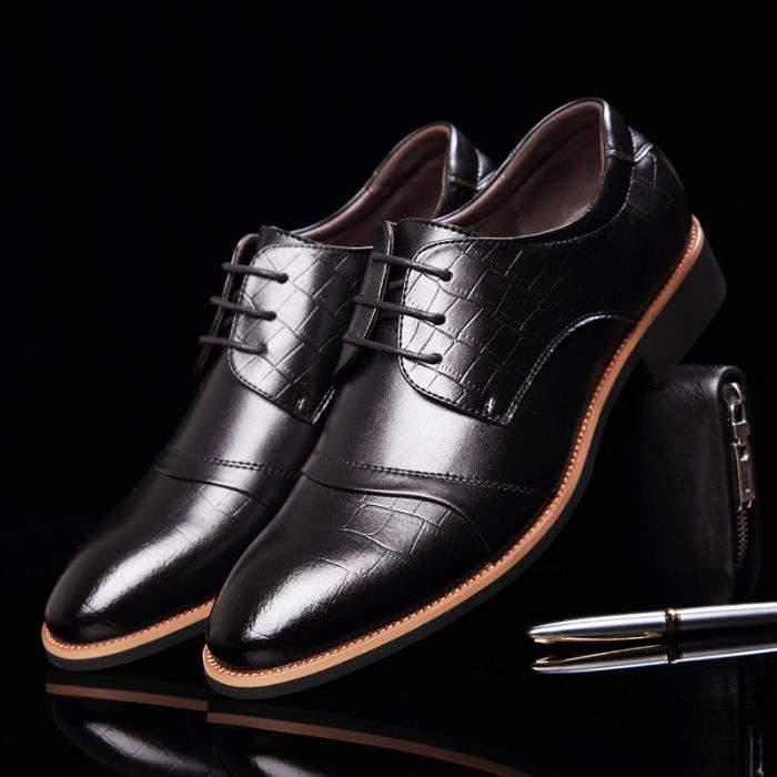 chaussures en cuir Business hommes chaussures h...