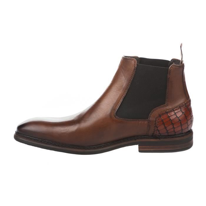 Boots homme - FIRST COLLECTIVE - Naturel - 24601 - Millim xOV5shKmH