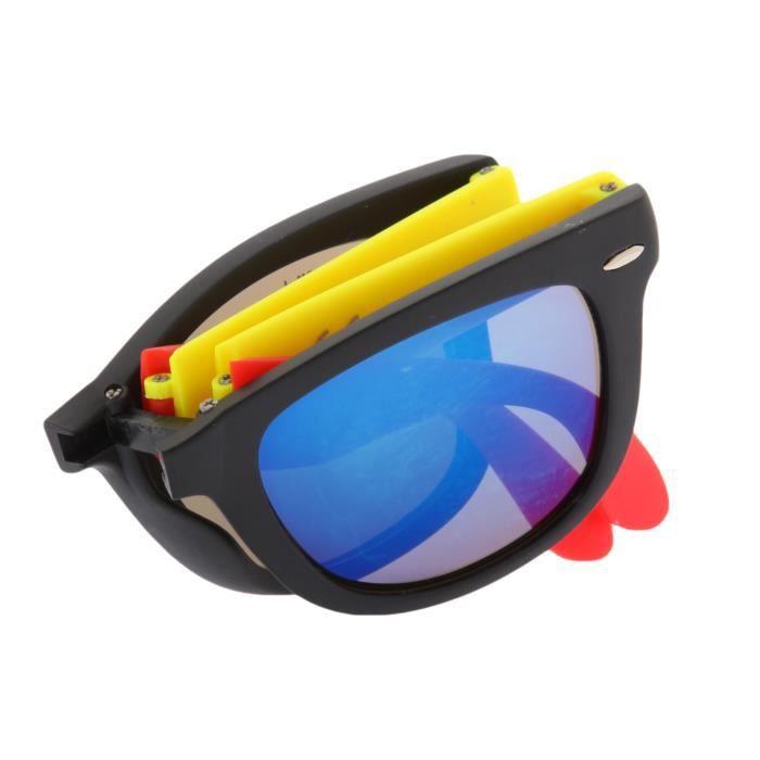 De Puta Madre 69 Adultes Unisexe Lunettes de soleil Pliante lunettes noir/bleu DZ2039S-2238-BK-RD