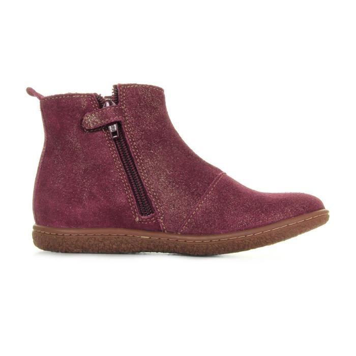 Boots Kickers Vinciane Bordeaux