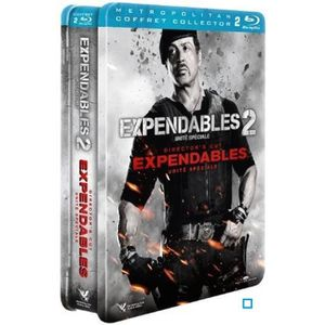 DVD FILM Blu-Ray Coffret expendables