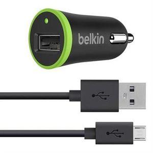 BELKIN Adaptateur allume-cigare - Type USB - 10 W - Noir