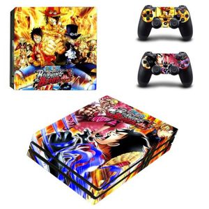 STICKER - SKIN CONSOLE Sticker-decal Autocollant Ps4 -  PRO Burning blood