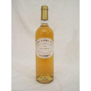 VIN BLANC sauternes château raymond lafon  liquoreux 2006 -