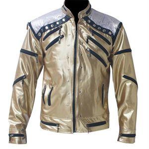 BLOUSON Rock Moto Classique Michael Jackson Costume De Jac