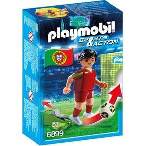 UNIVERS MINIATURE PLAYMOBIL 6899 Joueur portugais