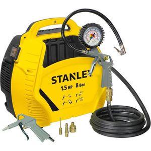 COMPRESSEUR STANLEY Compresseur d'air sans cuve 1,5 HP AIR KIT
