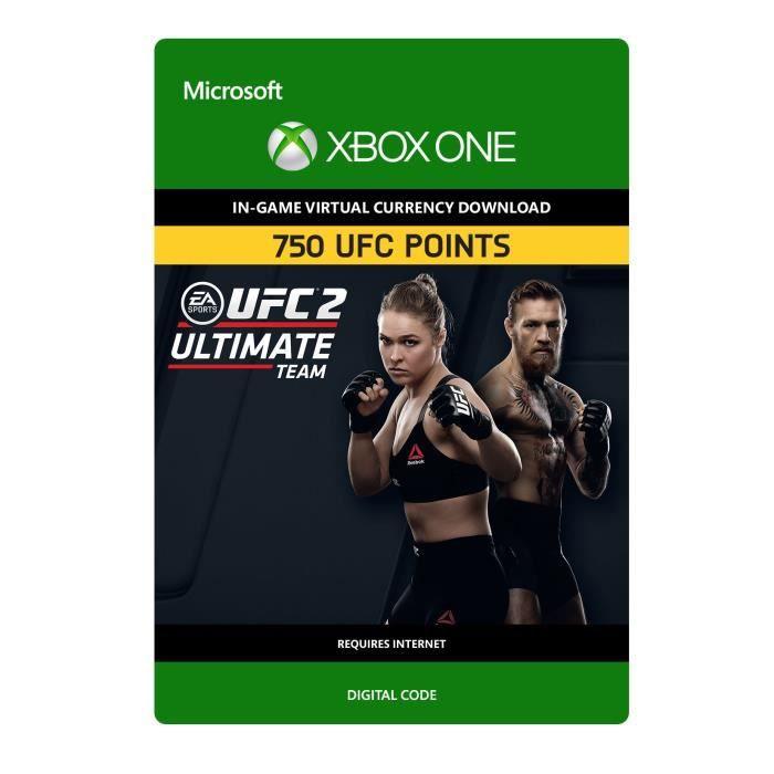 DLC UFC 2: 750 UFC Points pour Xbox One