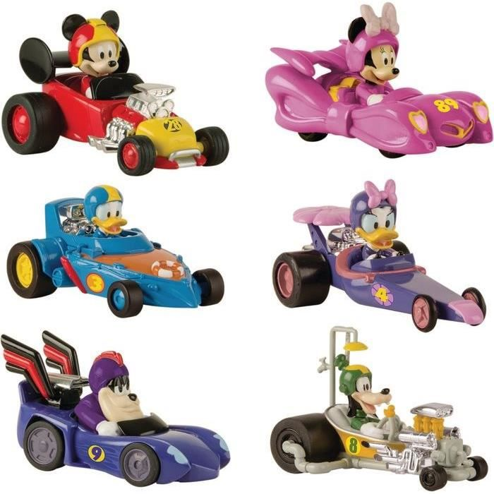 MICKEY ROADSTER RACERS Voiture Pat Pack Mickey & Ses Amis Top Départ
