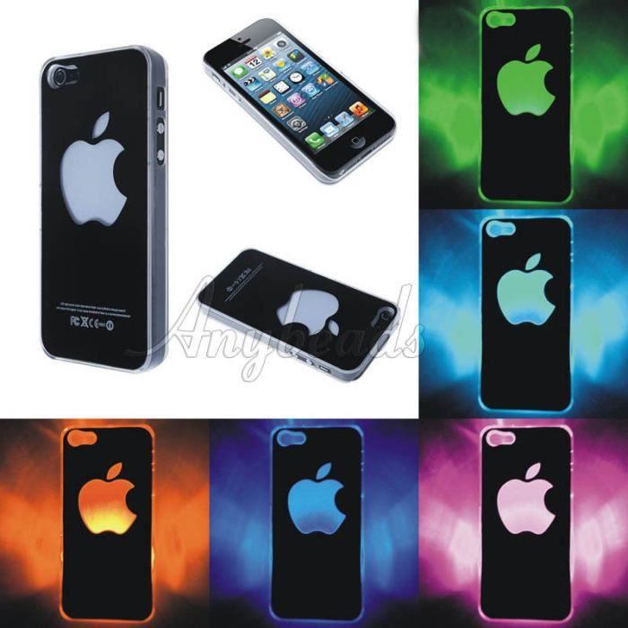 coque lumineux iphone 8