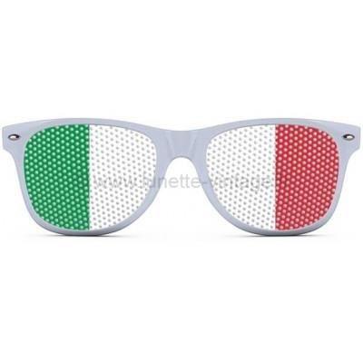 Lunettes Drapeau Italien - Achat   Vente lunettes de soleil Mixte ... 8fba2e3a9b3a