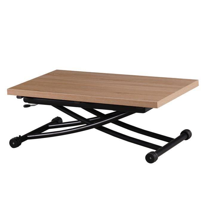 Table Relevable Bois