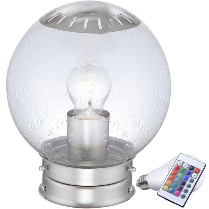 De Couleur Del Rvb Led Changeur Extérieur Jardin Lampe Terrasse Luminaire qUzVGMpLS