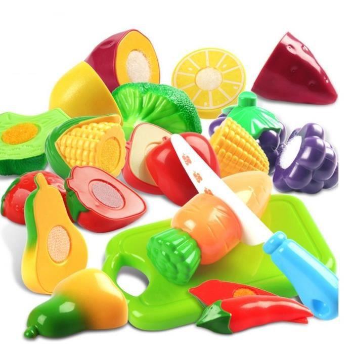 12pcs   ensembles de jouets pour enfants cuisine maison de fruits et  légumes à vendre des jouets d7ec19ef81a8