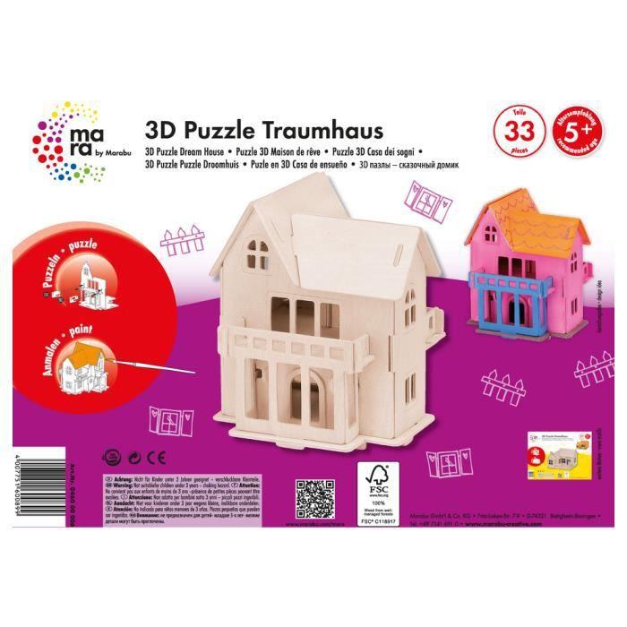 Puzzle 3D Maison - Achat / Vente Jeux Et Jouets Pas Chers