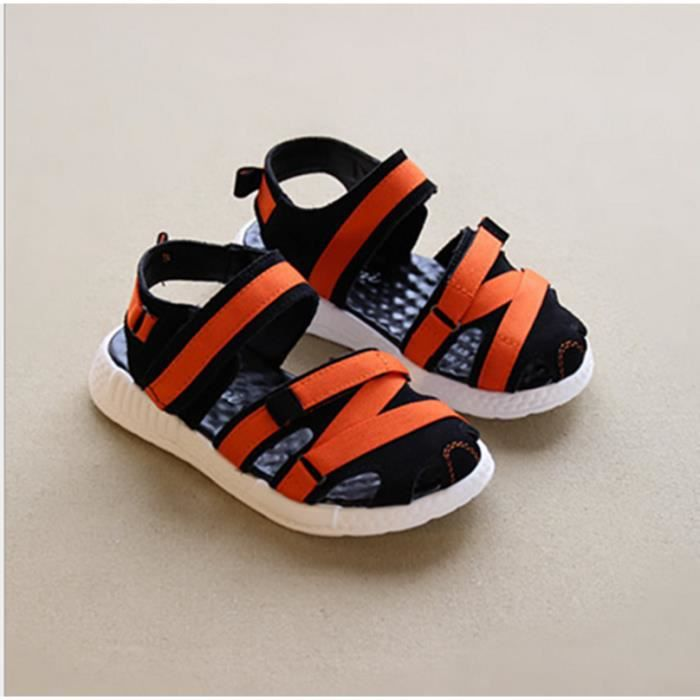 sandales en cuir ruban kick pour les enfants