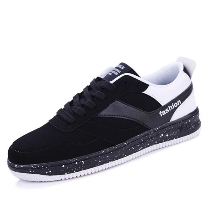 Chaussures De Sport Pour Hommes en daim Textile De Course Populaire BLLT-XZ122Blanc39 9f5rILSo2X