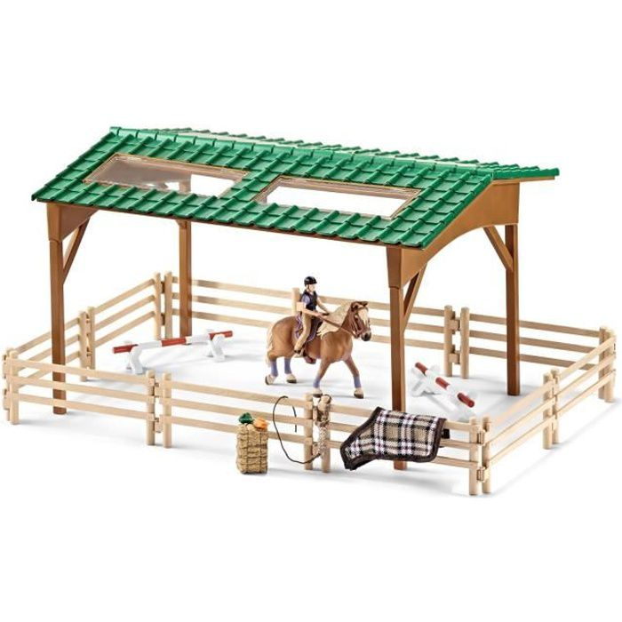 schleich la cavali re carri re achat vente accessoire de figurine cdiscount. Black Bedroom Furniture Sets. Home Design Ideas