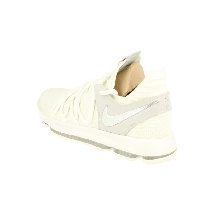 897815 Hommes Basketball Zoom Chaussures Blanc Kd10 Nike Sneakers Trainers 100 xUw6XZECEq