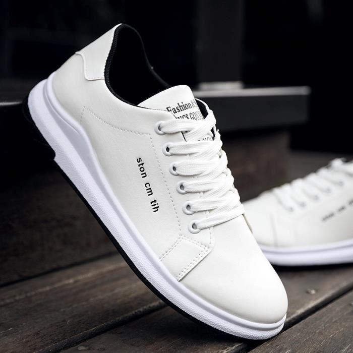Chaussure de course Hommes Respirant Chaussure de toile Super Sneaker homme mode brand ConfortableChaussures dssx399noir42 EYtErFy