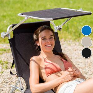 Chaise longue transat avec pare soleil achat vente pas for Chaise longue avec pare soleil pas cher