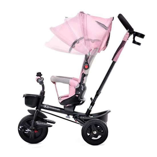 KINDERKRAFT Tricycle AVEO Rose - 3 roues - Evolutif - Pliable - Achat    Vente tricycle - Cdiscount b4f7a03b3dc