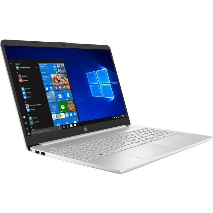 "HP PC Portable 15s-eq0018nf - 15""HD - Ryzen 3 - RAM 4Go - Stockage 256Go SSD - Windows 10"