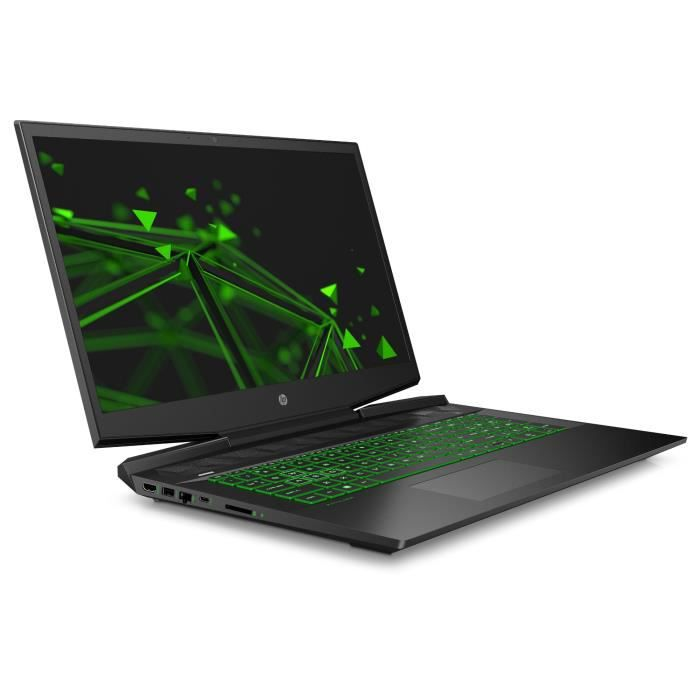 Hp pc portable pavilion gaming 17 cd0008nf 17.3 fhd ips core i5 9300h ram 8go hdd 1to ssd 128go gtx 1650 4go freedos