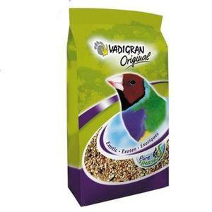 VADIGRAN Lot de 2 Mélanges de graines Original pour oiseaux exotiques 1kg