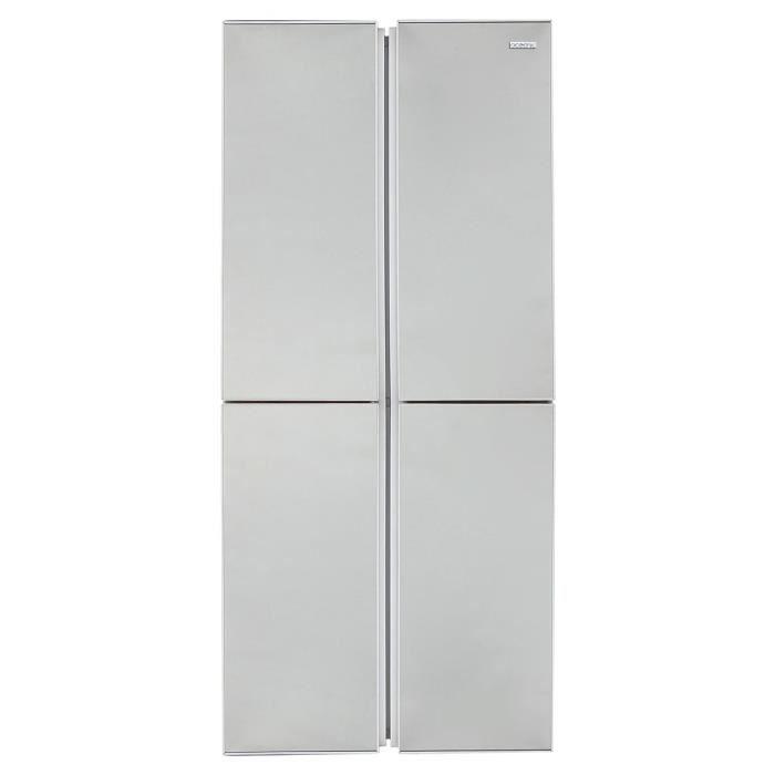 OCEANIC 4D388SM Réfrigérateur combiné