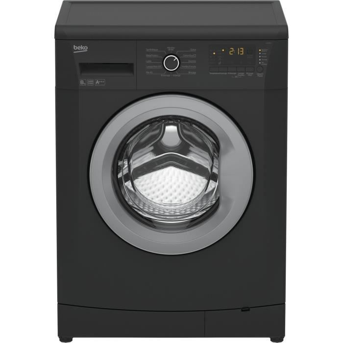 machine a laver grise pas cher 15 beko llf08a1 lave linge frontal 8kg 1400 tou. Black Bedroom Furniture Sets. Home Design Ideas