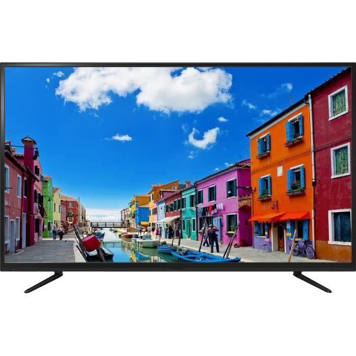 """Téléviseur LED Continental Edison TV 4K UHD 60"""" (152 cm) 4*HDMI 1"""