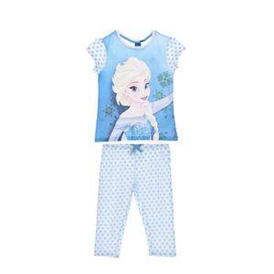 Ensemble de vêtements LA REINE DES NEIGES Ensemble Pyjama Bleu Sérigraph