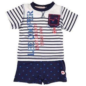 Ensemble de vêtements LEE COOPER - Ensemble Bleu T-Shirt + Short - Bébé