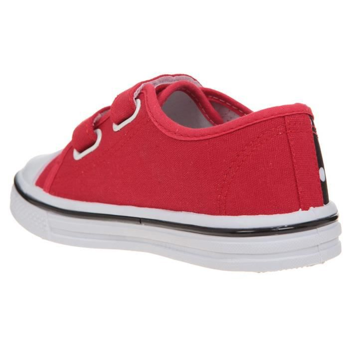 Tissu Rouge Enfant Baskets Fille Minnie 5HXq1FE