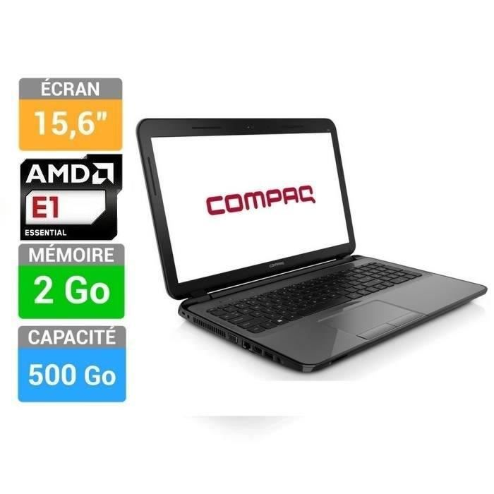 pc portable compaq 15 h051nf achat vente ordinateur portable compaq 15 h051nf conomique. Black Bedroom Furniture Sets. Home Design Ideas